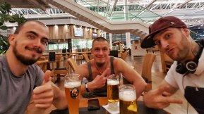 Auf ein Bier mit Freunden
