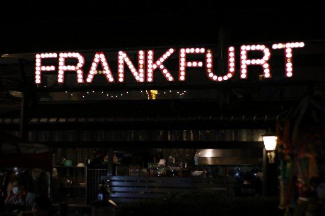 """""""Frankfurt"""" - ein Cafe"""