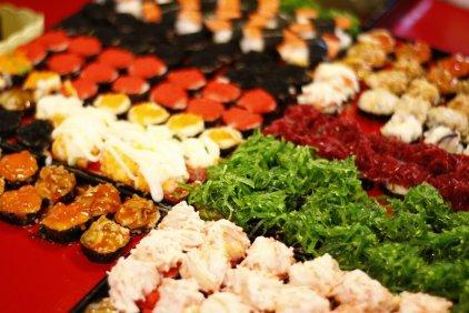 Sushi. Günstigst.