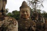 Brückenstatuen Südtor Angkor Thom
