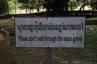 Ein Jammer, dass ein solches Schild nötig ist.