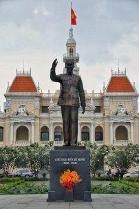 Statue vom Befreier Ho Chi Minh