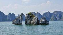 Chicken Rocks Ha Long Bay